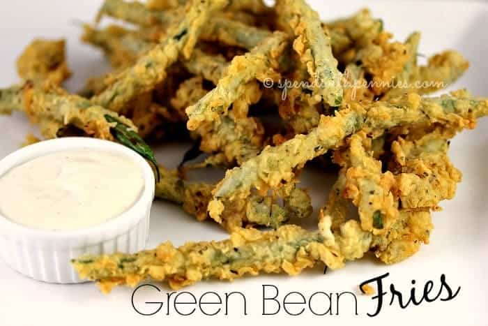Green Bean Fries! Yummy as an appetizer, snack or side!