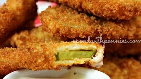 Crispy Fried Dill Pickles Spend With Pennies