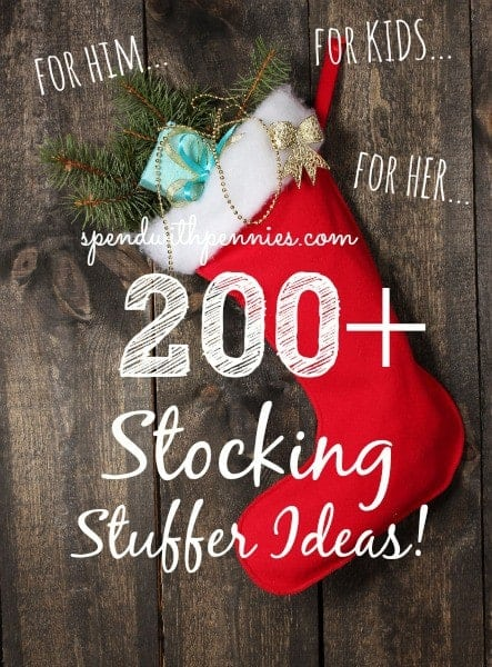 Stocking Stuffer Ideas Huge List Spend With Pennies