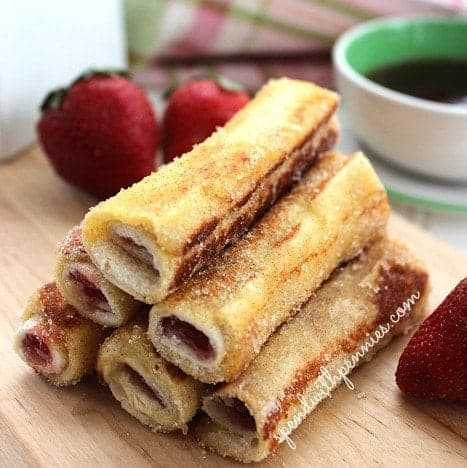 French Toast Roll Ups - Spend With Pennies