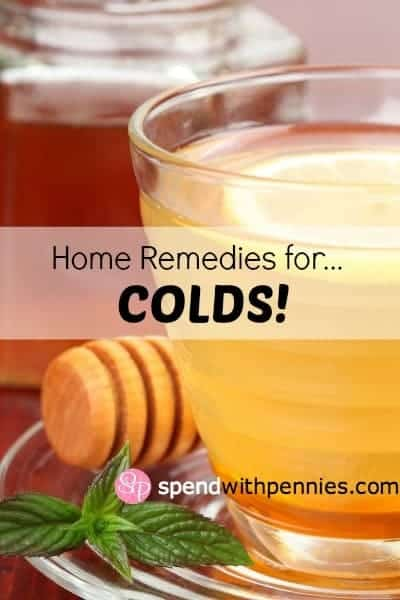 Here are some fabulous home remedies for colds (and they will help you keep yourself hydrated!)!