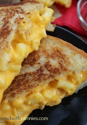 mac and cheese grilled sandwich