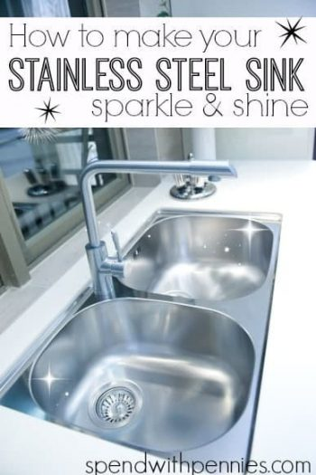 sparkling double sinks