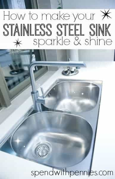 How To Make Your Stainless Steel Sink Sparkle Amp Shine