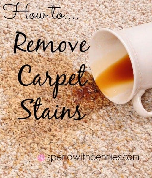 How to remove carpet stains spend with pennies - Remove carpet stains ...