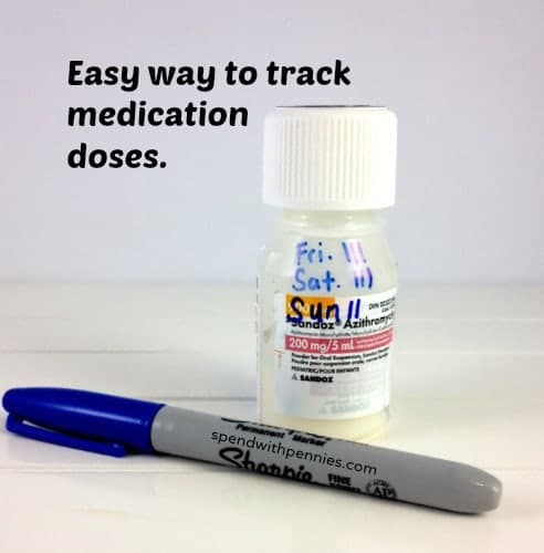 track medication doses