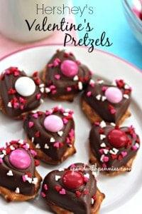 valentines pretzels