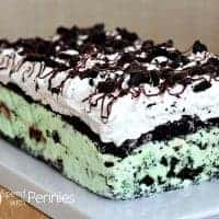 Oreo Fudge Ice Cream Cake Yum!
