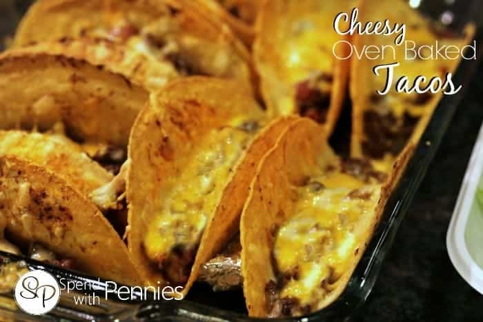 cheesy baked tacos 4