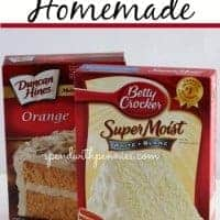 make a box mix taste homemade