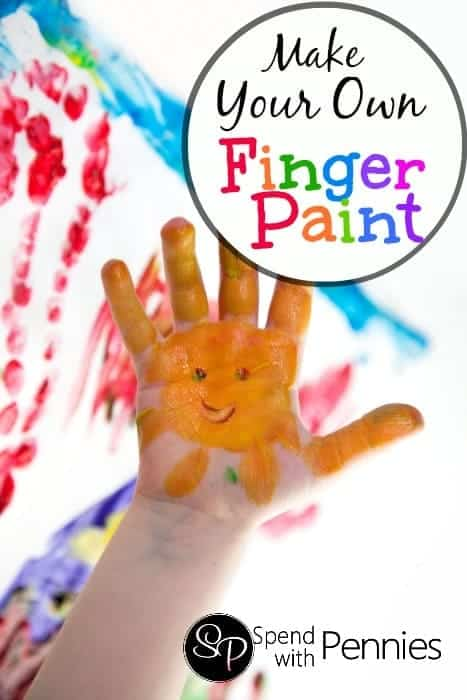 make your own fingerpaint