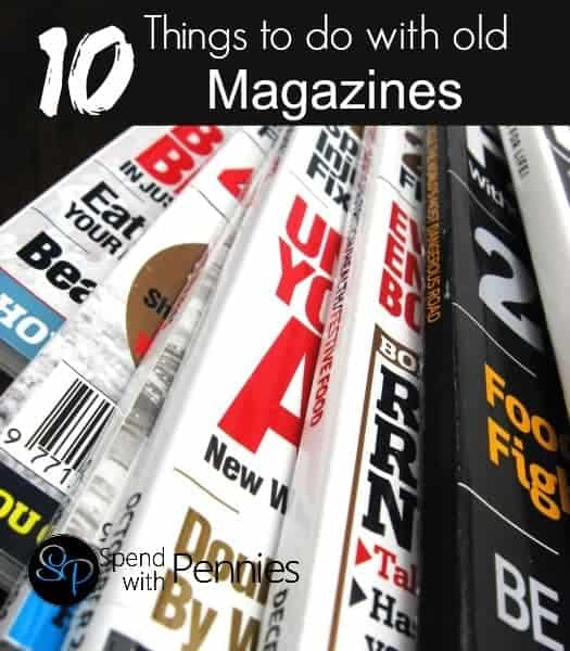 10 Things To Do With Old Magazines