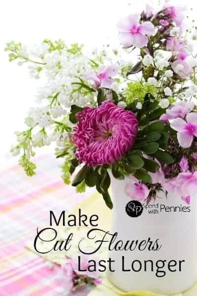 make cut flowers last longer with these simple tips spend with pennies. Black Bedroom Furniture Sets. Home Design Ideas