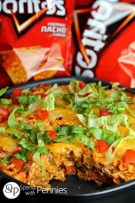 Layered Doritos Casserole!