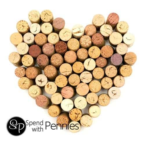 More fun craft ideas to use up your wine corks!  Cheers!!