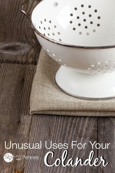 Unusual uses for your colander!