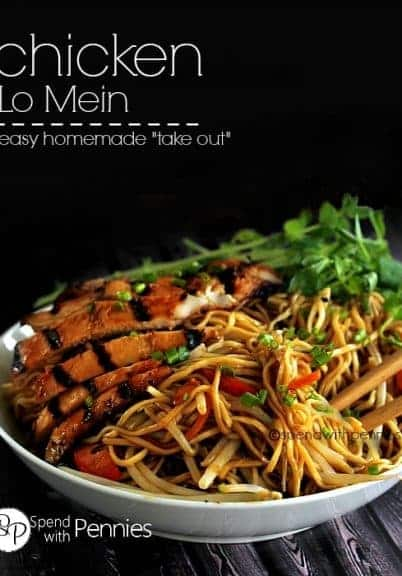 how to make lo mein with chicken and vegetables