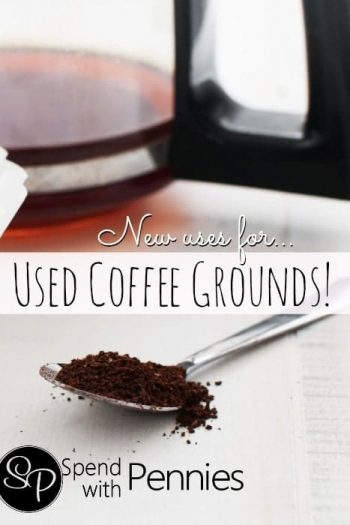 coffee carafe, coffee grounds on a spoon