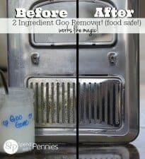 How to make Homemade Goo Remover!