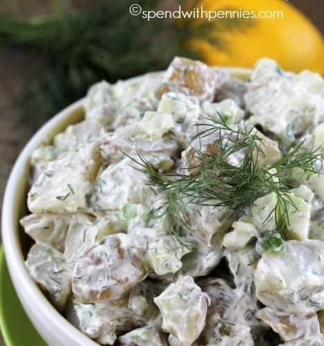 Potato Salad Recipe With Mayo And Dill