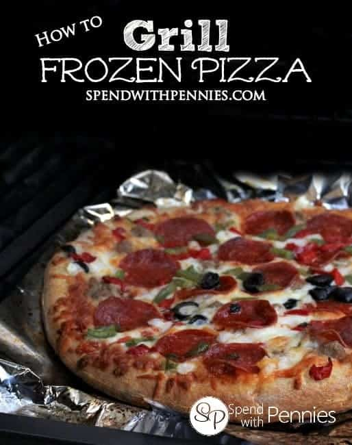 How to Grill a Frozen Pizza! Making frozen pizza on the grill is a great way to add delicious flavor and a crunchy crust!