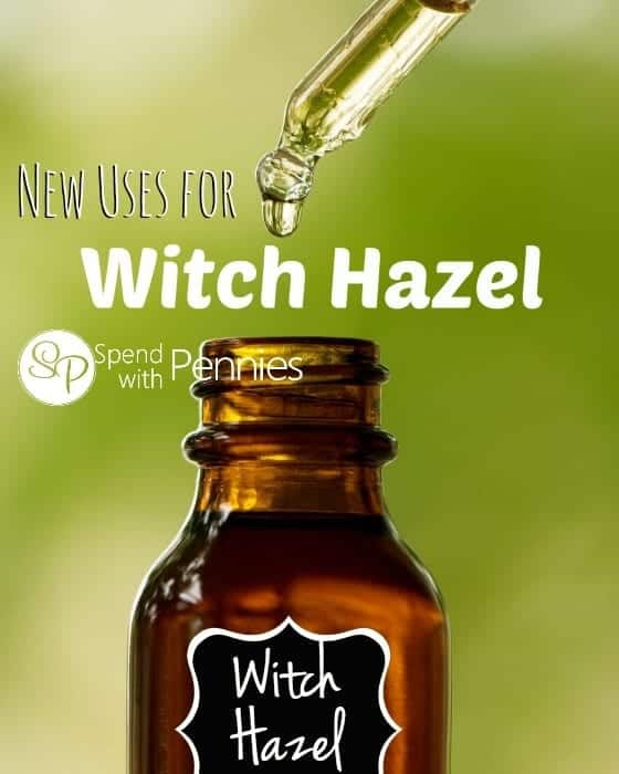 New Uses for Witch Hazel!  Great for bruises, razor burn and SO MUCH MORE!!