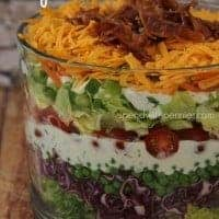 The Perfect Layered Salad!  I love to bring this to any gathering!