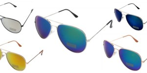 Unisex-Metal-Aviator-Sunglasses