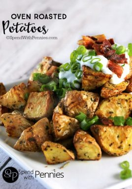 Oven Roasted Potatoes that go with any meal