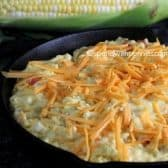 corn bread ready to bake
