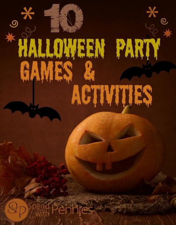 10 Halloween Party Games and Activities!