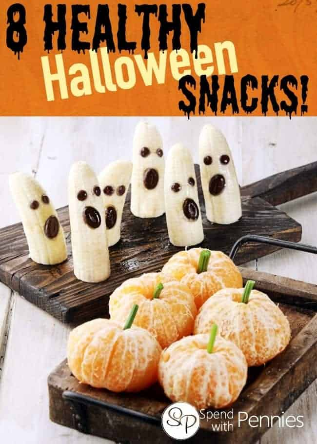 8 healthy halloween snacks for kids spend with pennies for Halloween treats to make with kids