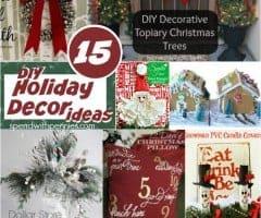 15 DIY Holiday Decor Ideas