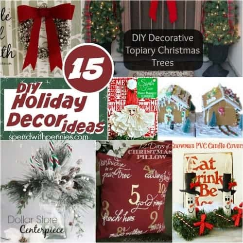 15 DIY Holiday Decor Ideas