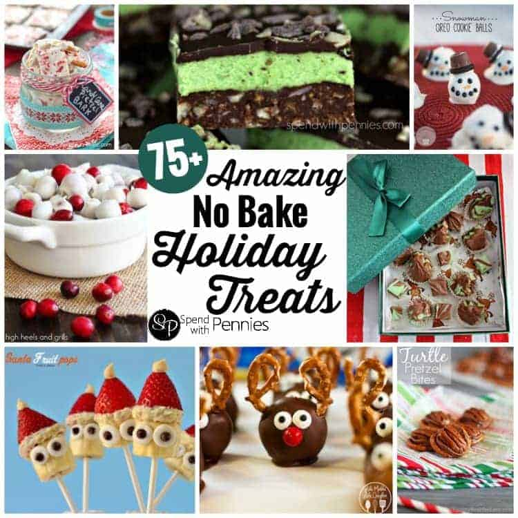 75+ Amazing No Bake Holiday Treats!