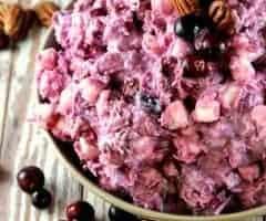 Cranberry Millionaire Salad