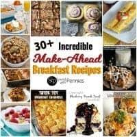 Incredible Make Ahead Breakfast Recipes