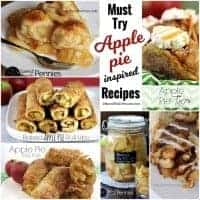 Must Try Apple Pie Inspired Recipes