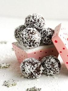 healthy chocolate truffle
