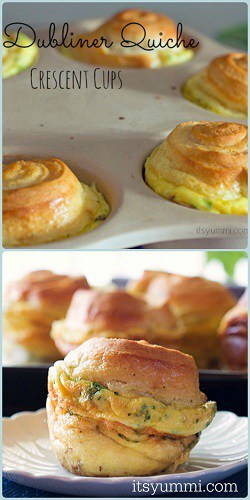 dubliner quiche crescent cups