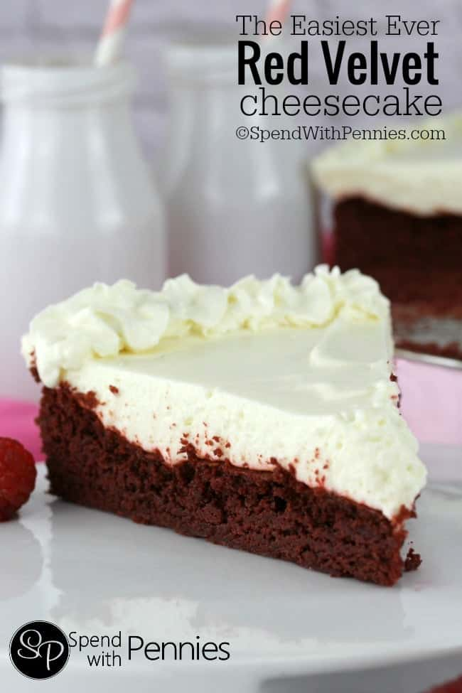 Easiest Ever Red Velvet Cheesecake