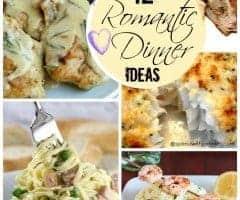 12 Romantic Dinner Ideas