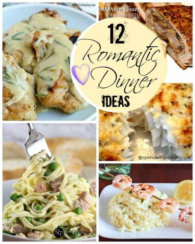 Great romantic dinner tips and ideas spend with pennies 12 romantic dinner ideas it doesnt take a lot to turn ordinary into forumfinder Gallery