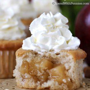 Apple Pie Cupcakes .