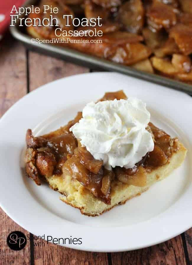 Overnight Apple Pie French Toast