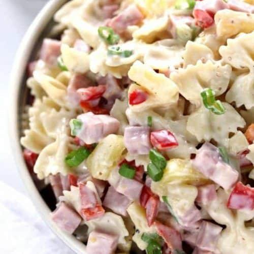Pasta Salad Recipe Hawaiian