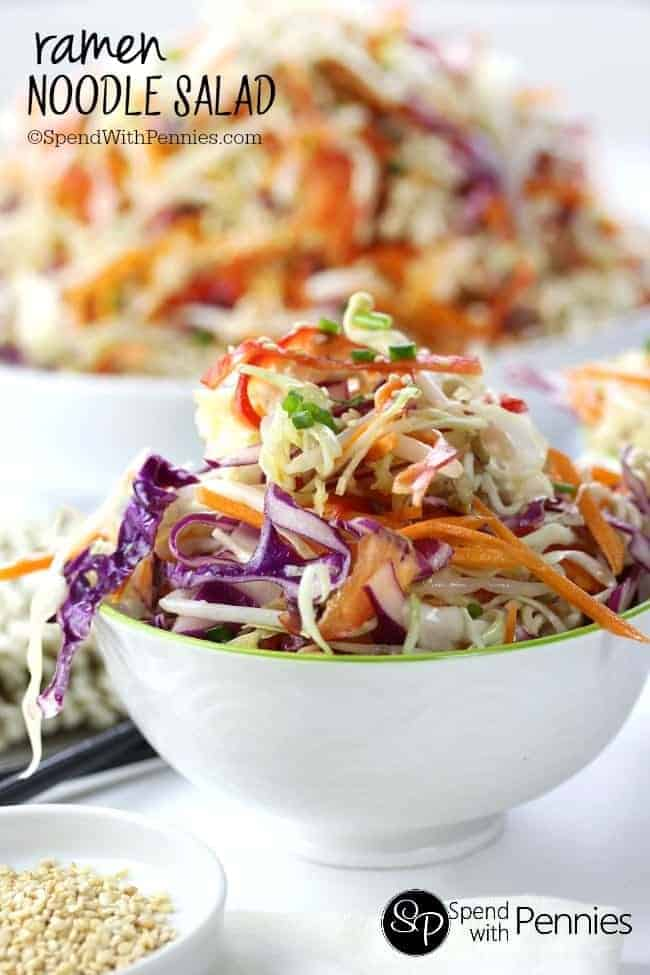 Ramen Noodle Salad Recipe — Dishmaps