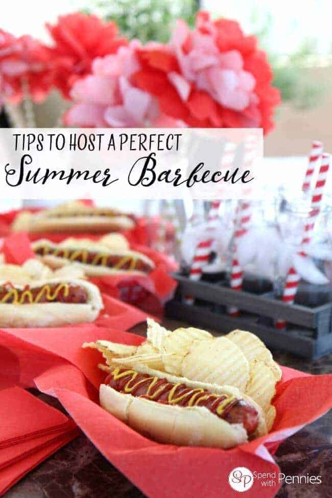 How to Host a Perfect Summer Barbecue