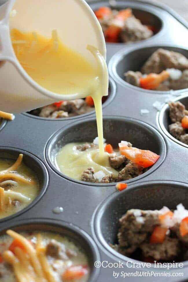 Make Ahead Egg Muffins.