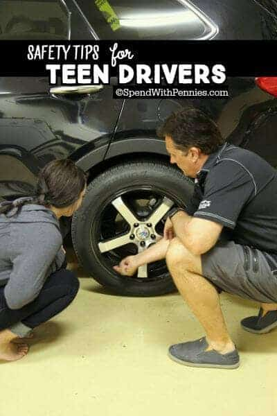 SAFETY TIPS FOR TEEN DRIVERS! Driving is a big responsibility, I have 3 young drivers in my own family... and here are my favorite tips to keep them safe!  More here: https://www.spendwithpennies.com/safety-tips-for-teen-drivers/